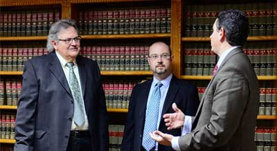 Rizzo Lawyers Discussing Case Kenosha